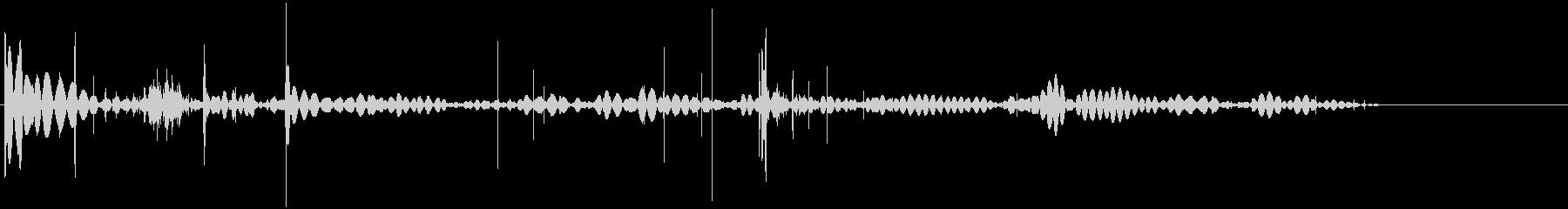 静的記録4の未再生の波形