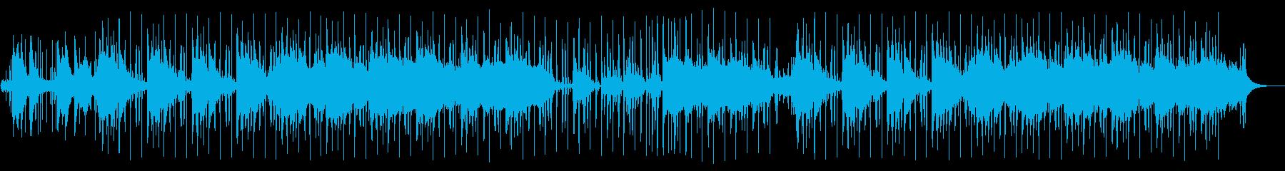 アシッドジャズ:和風リミックスの再生済みの波形