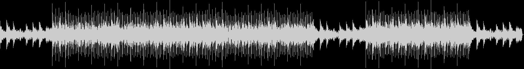 洋楽)夏の終り、エンディング感・バラードの未再生の波形