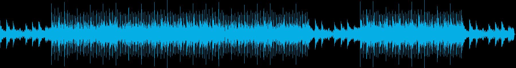 洋楽)夏の終り、エンディング感・バラードの再生済みの波形