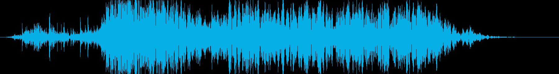 衝撃 噴火15の再生済みの波形