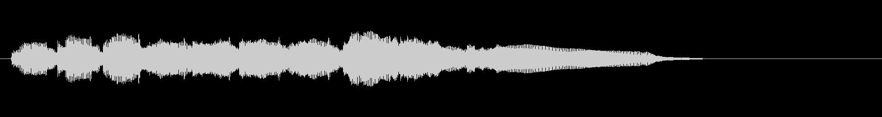 生音エレキギター4弦チューニング2エコーの未再生の波形