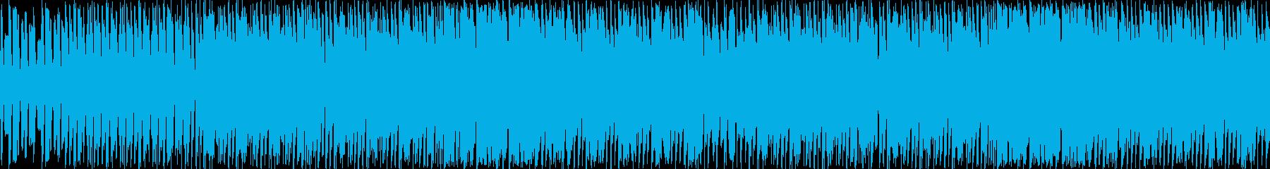 ゆるふわほのぼのゲームBGMの再生済みの波形