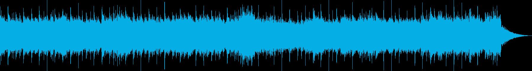 重々しいメタル調のロックですの再生済みの波形