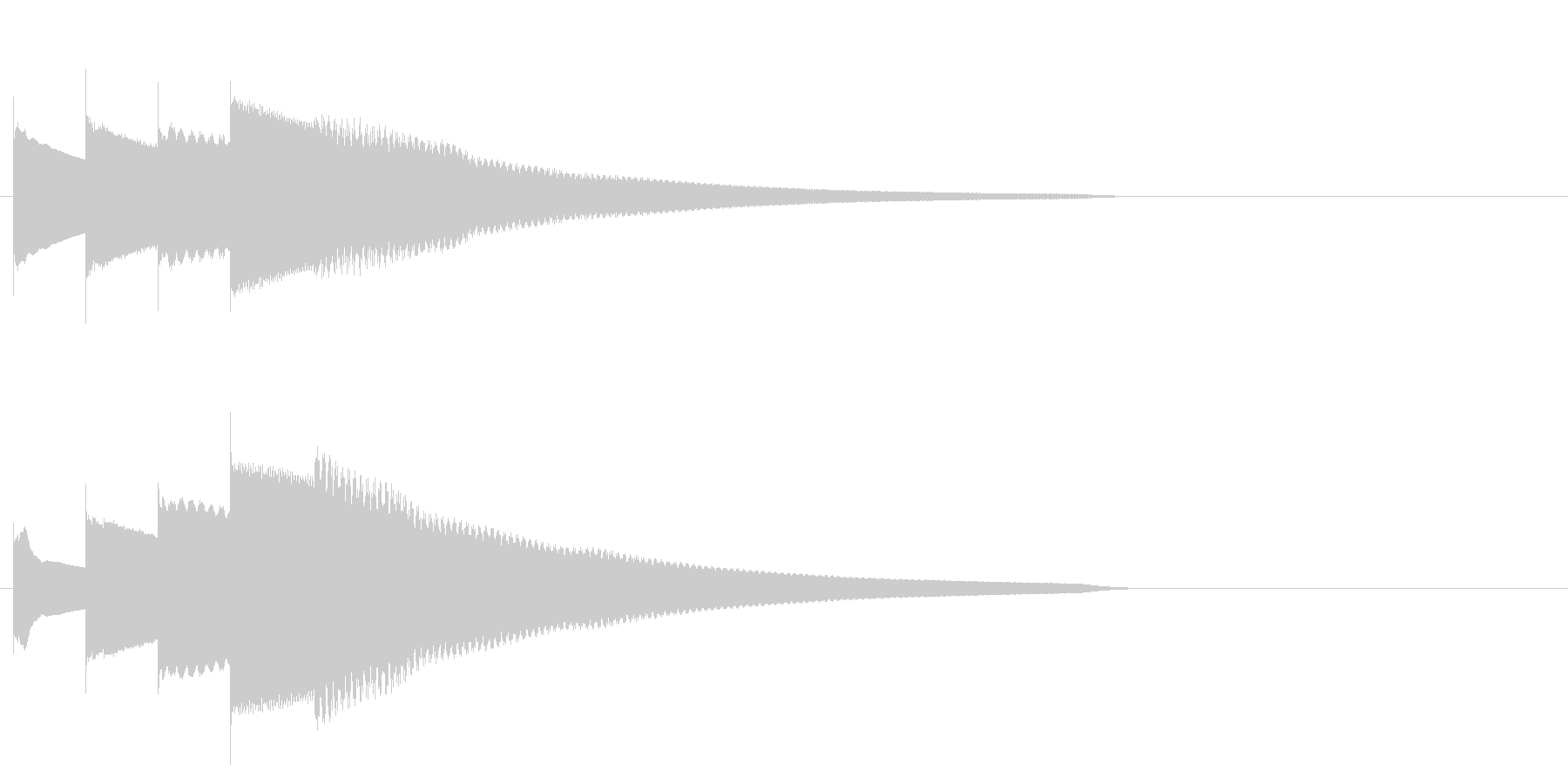 グロッケン系 長いフレーズ3(特)の未再生の波形