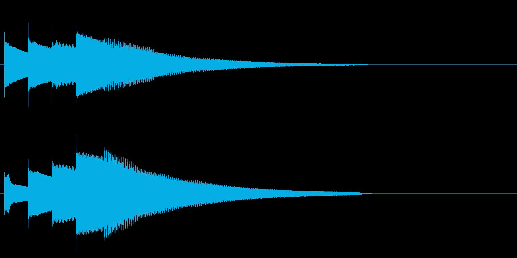 グロッケン系 長いフレーズ3(特)の再生済みの波形