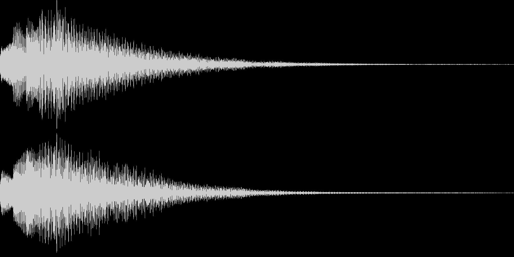 アイテム獲得・決定音・着信音・レベルUPの未再生の波形