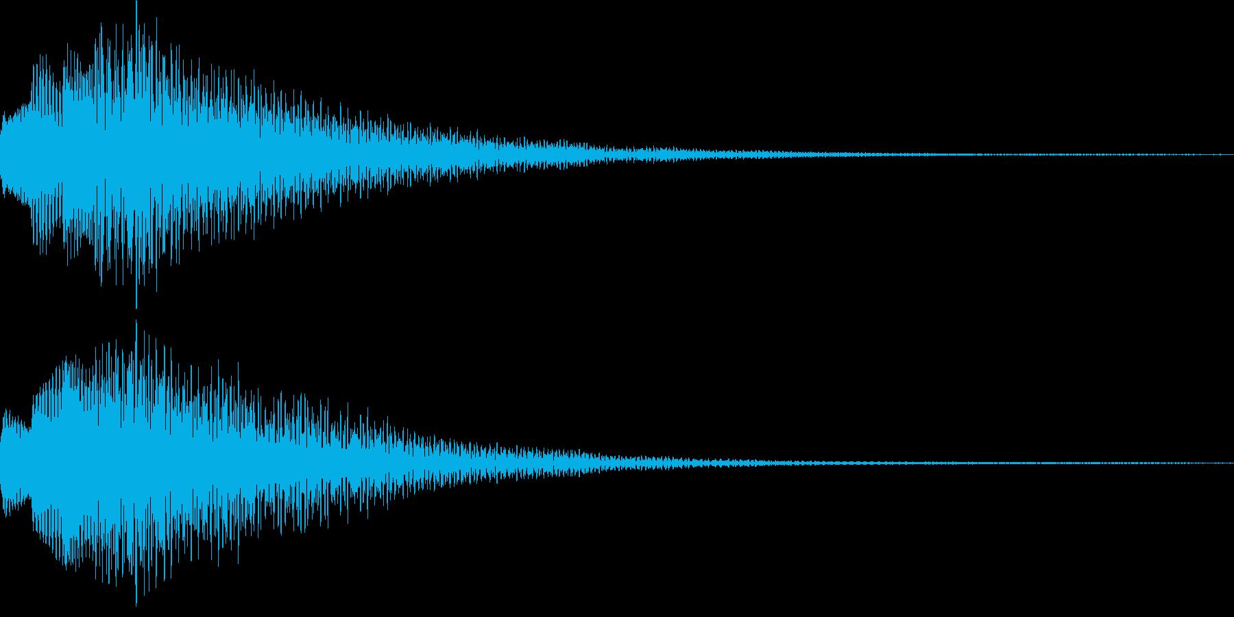 アイテム獲得・決定音・着信音・レベルUPの再生済みの波形