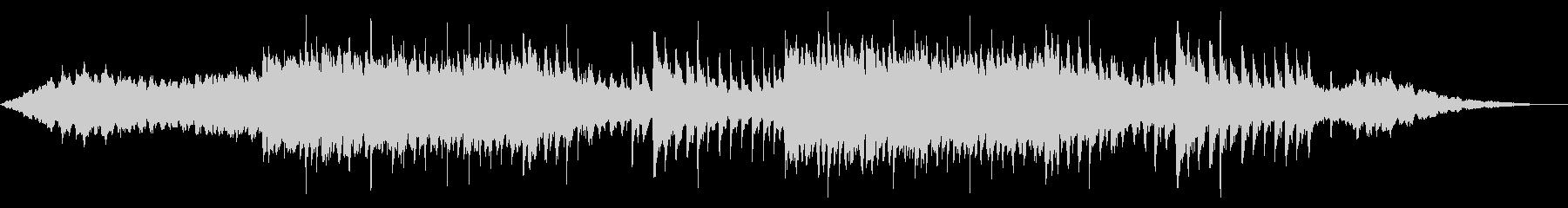 パワフルで感動的な壮大ピアノアンビエントの未再生の波形