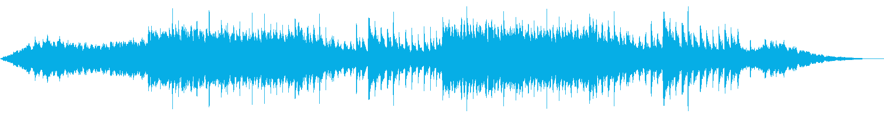 パワフルで感動的な壮大ピアノアンビエントの再生済みの波形