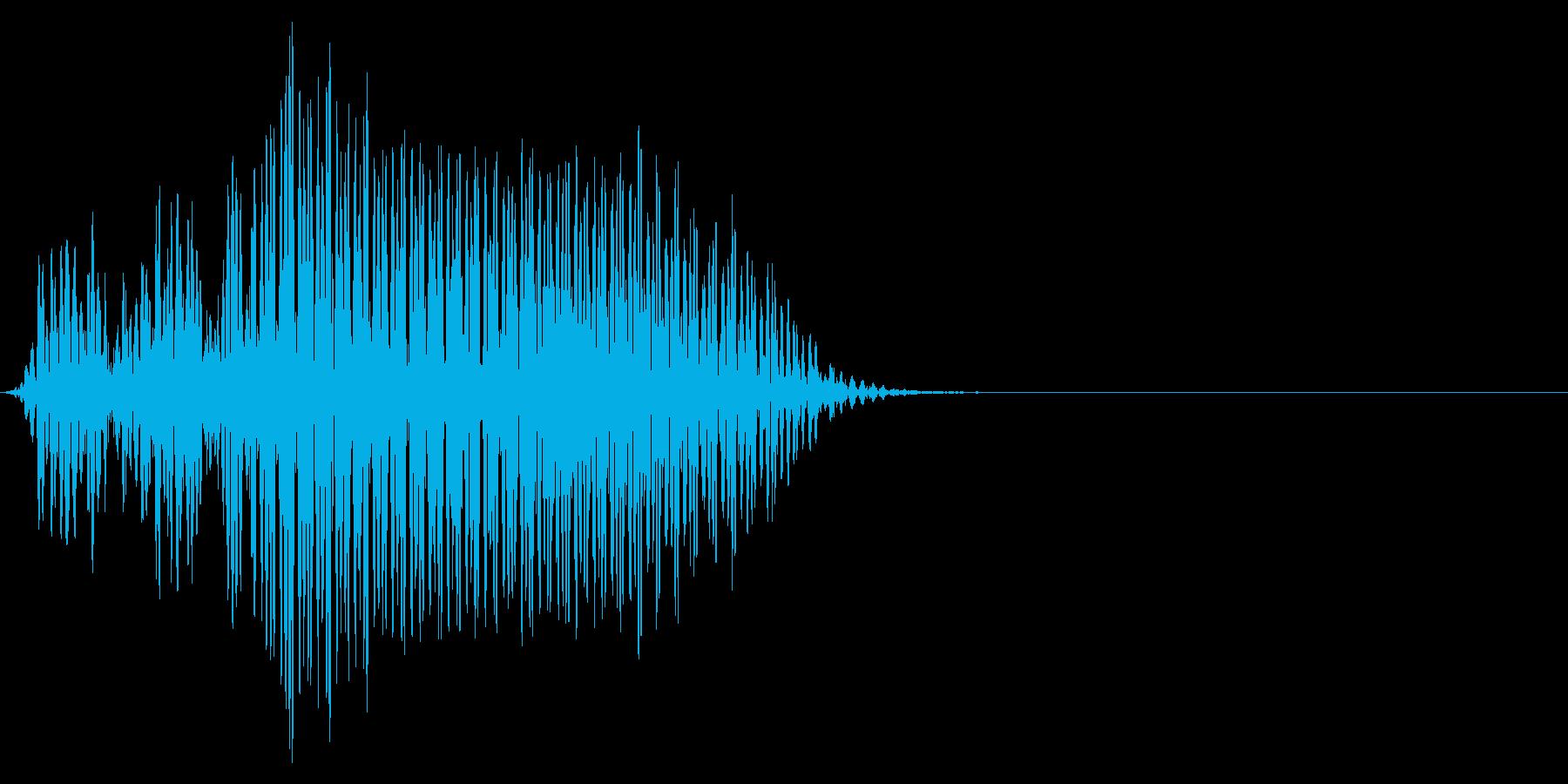ゲーム掛け声ゾンビ1ノー1の再生済みの波形