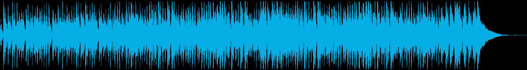 おしゃれで軽快なフレンチ風ジプシージャズの再生済みの波形