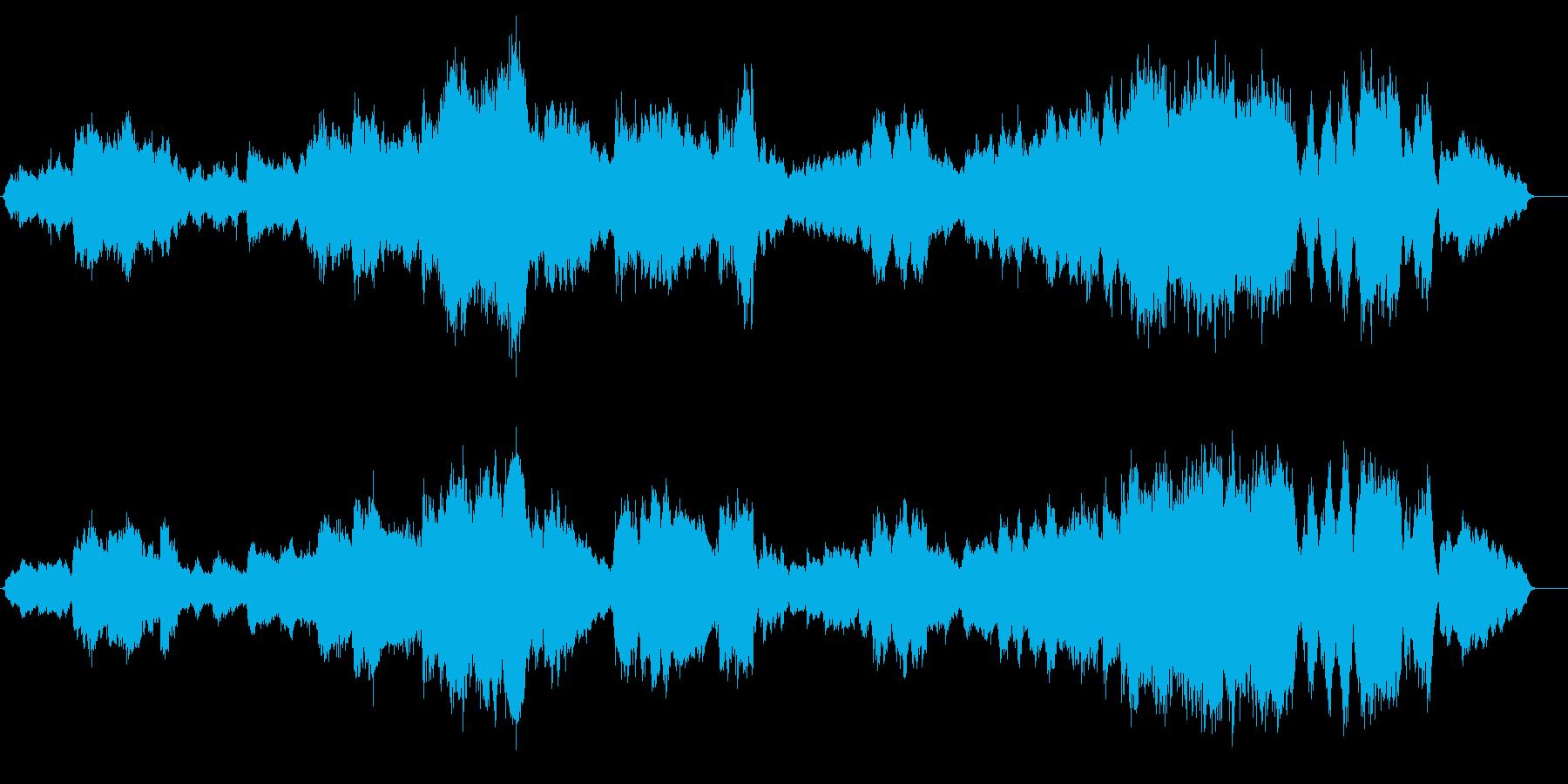 終宴後にも感動の余韻を残す劇的な退場曲の再生済みの波形
