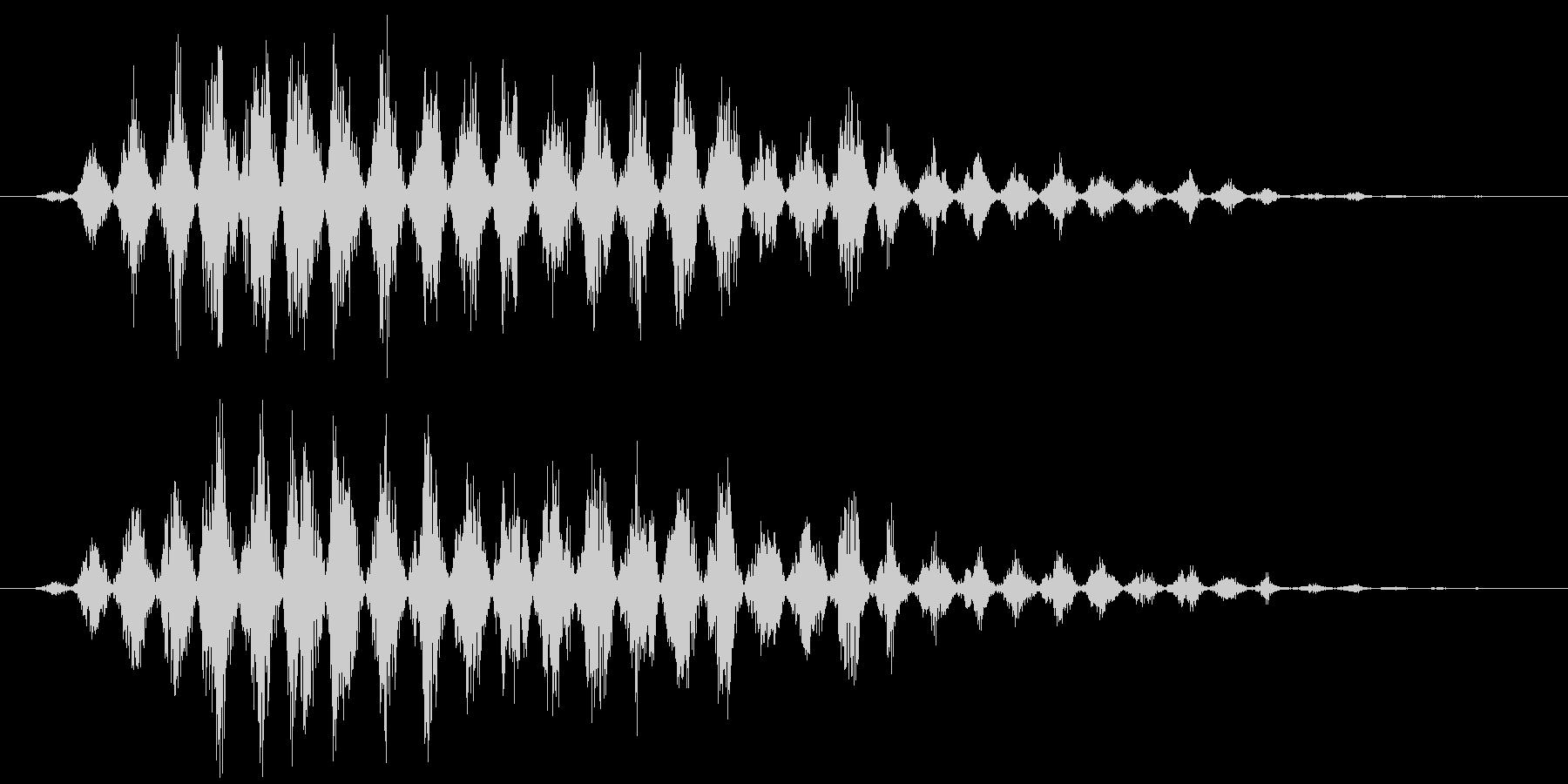 フルアァーッ(モンスター、声、鳥系)の未再生の波形