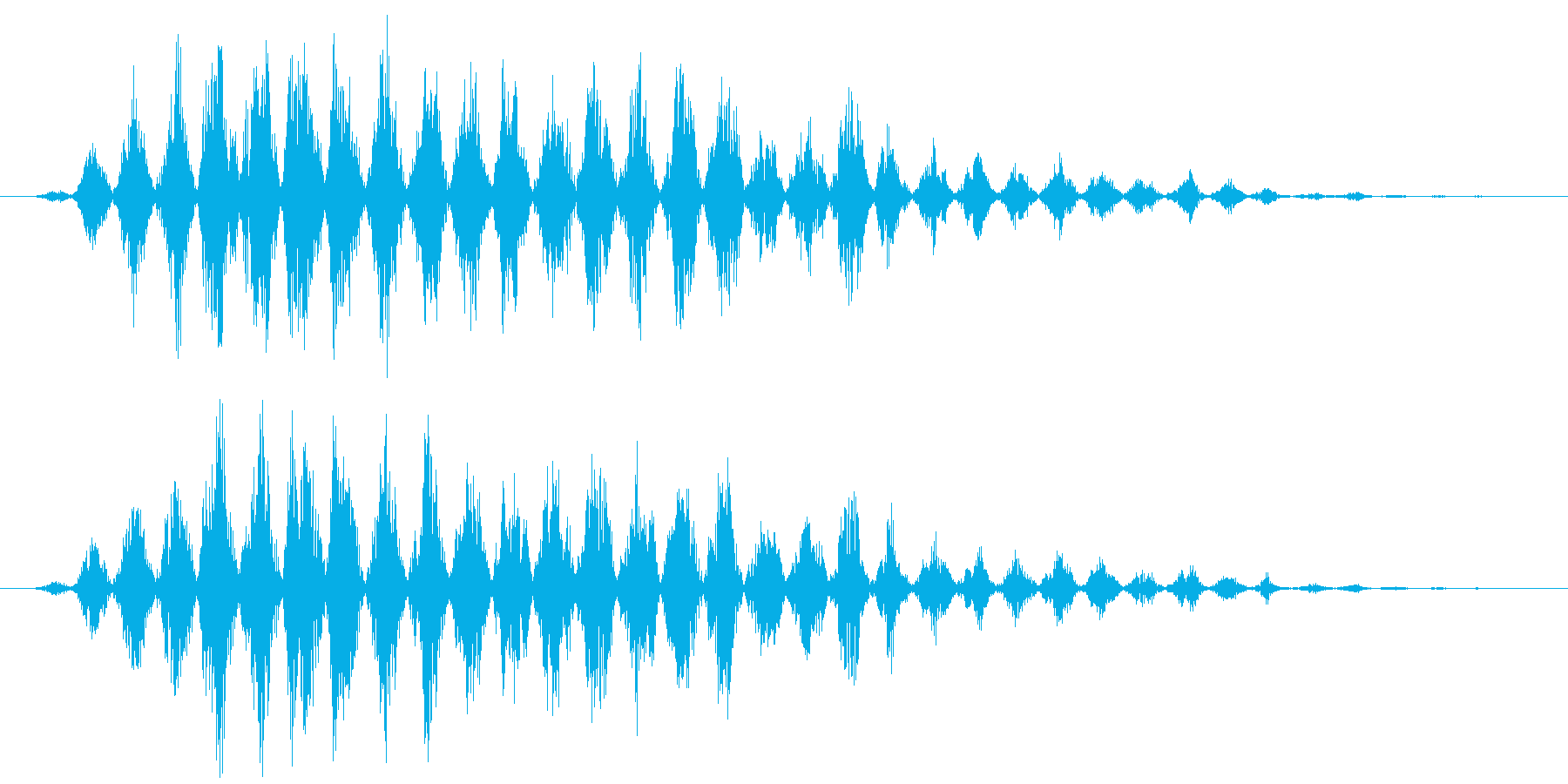 フルアァーッ(モンスター、声、鳥系)の再生済みの波形