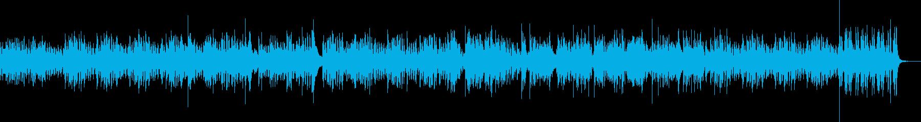ヴィブラフォンとピアノのボサノバの再生済みの波形