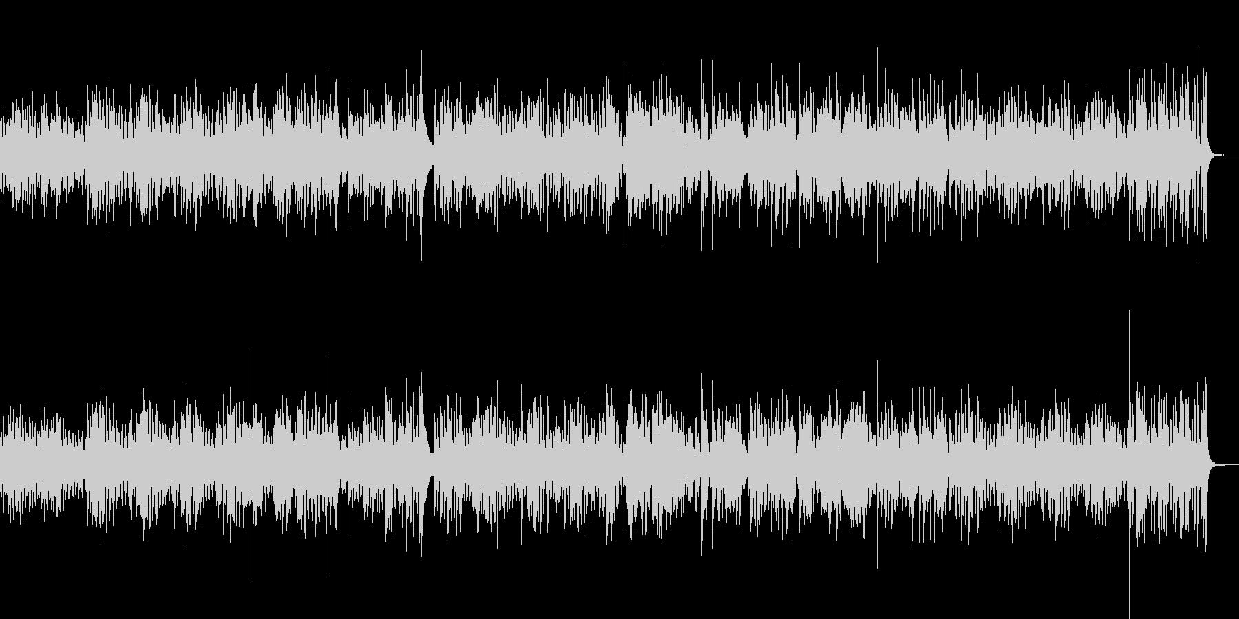 ヴィブラフォンとピアノのボサノバの未再生の波形