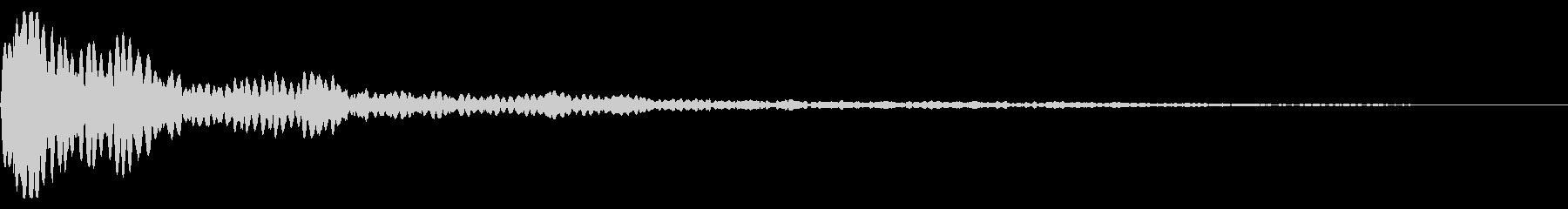 ピーン(ダイアログを開く_02re)の未再生の波形