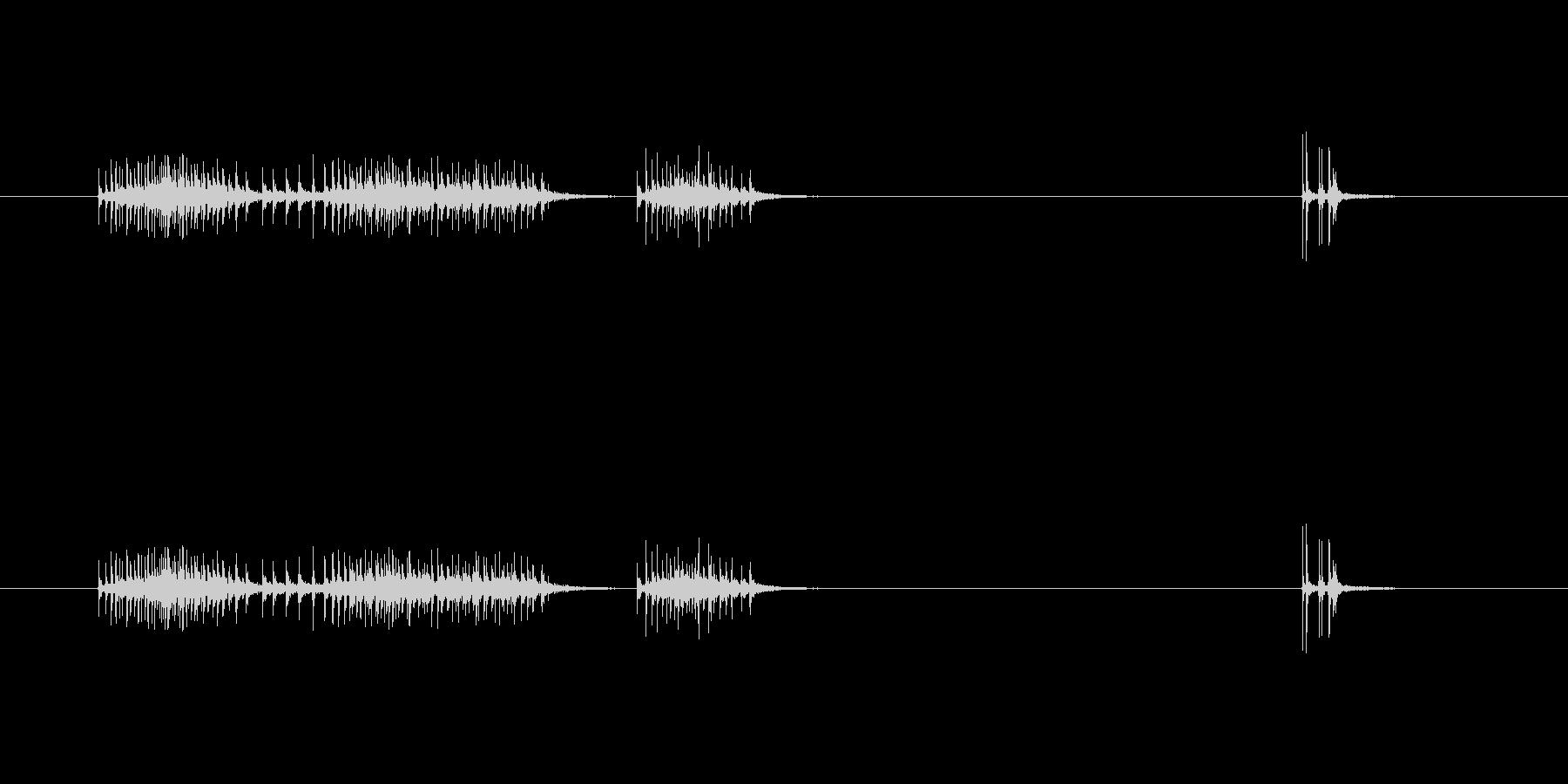 【セロテープ01-3(引く・切る)】の未再生の波形