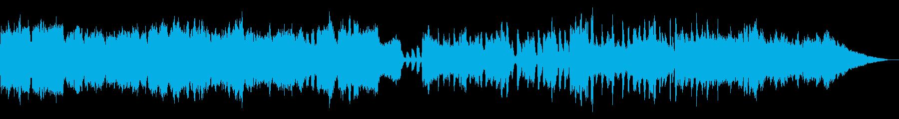 木管五重奏のさわやかBGMの再生済みの波形