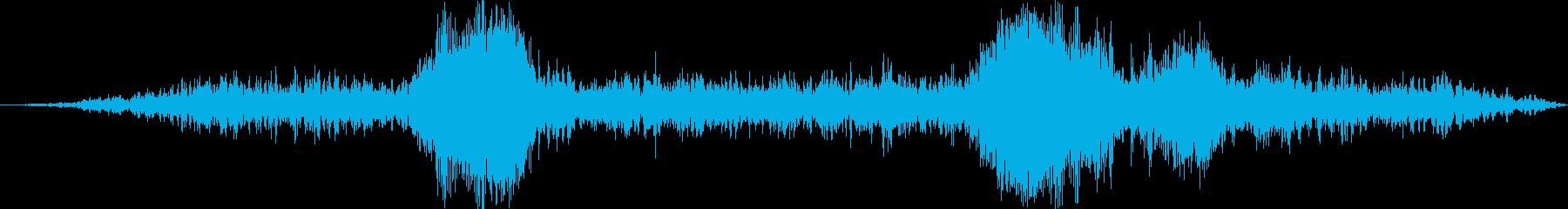 Auto:Int:肩越しの警告溝、...の再生済みの波形