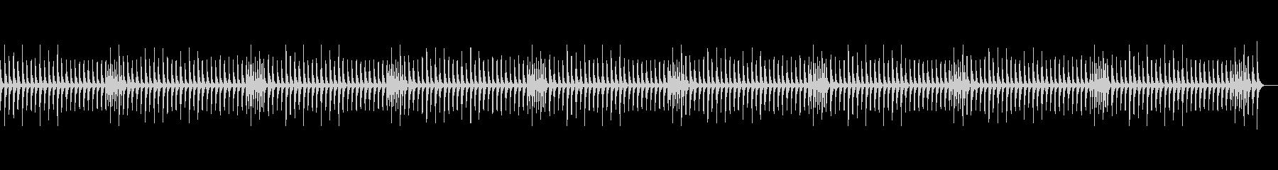 かえるの合唱 (ピッチカート)の未再生の波形