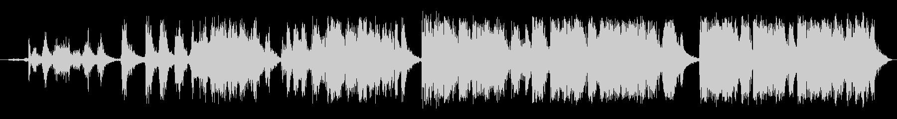 ガチョウ ガチョウの鳴き声01の未再生の波形