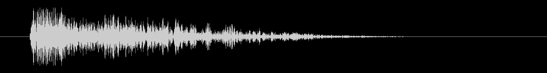レーザー音-23-3の未再生の波形