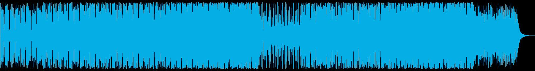 穏やかで軽やかなピアノギターサウンドの再生済みの波形