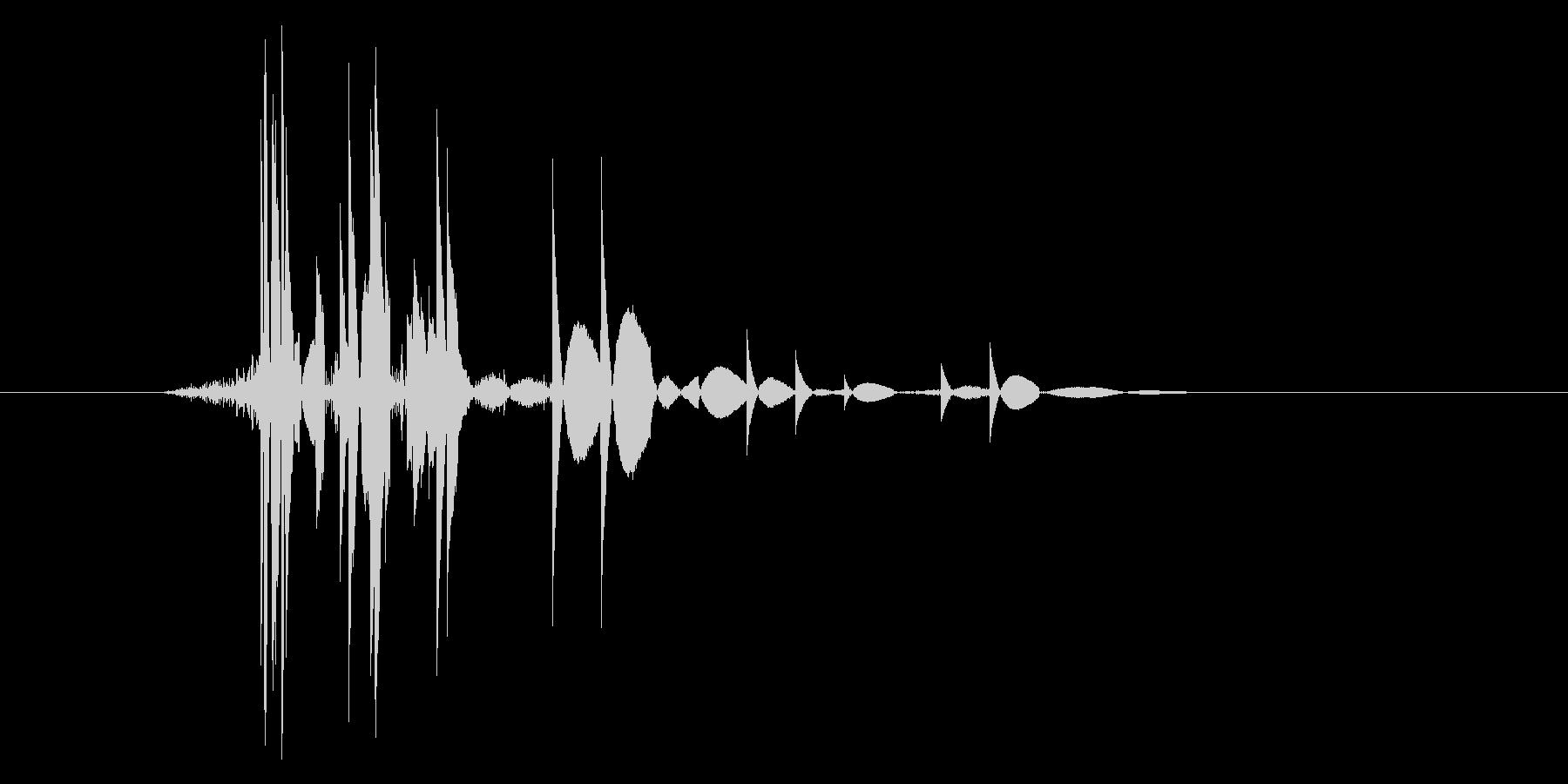 ゲーム(ファミコン風)ヒット音_035の未再生の波形