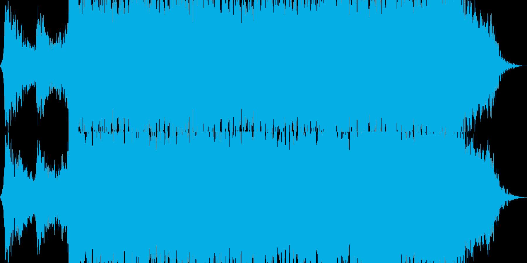メタル インディーロック 積極的 ...の再生済みの波形