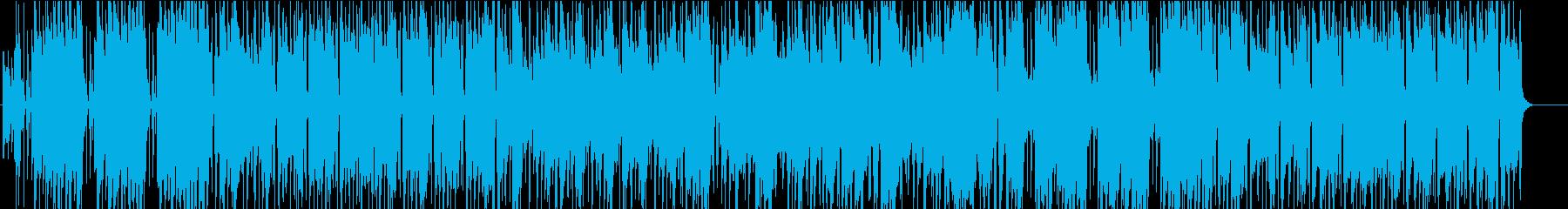 落ち着いたピアノメインのR&Bインスト曲の再生済みの波形