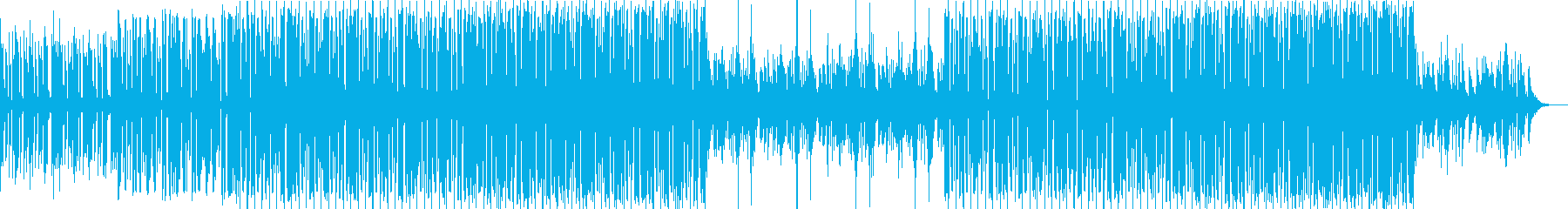 bpm112-あなたに夢中な情熱のEDMの再生済みの波形