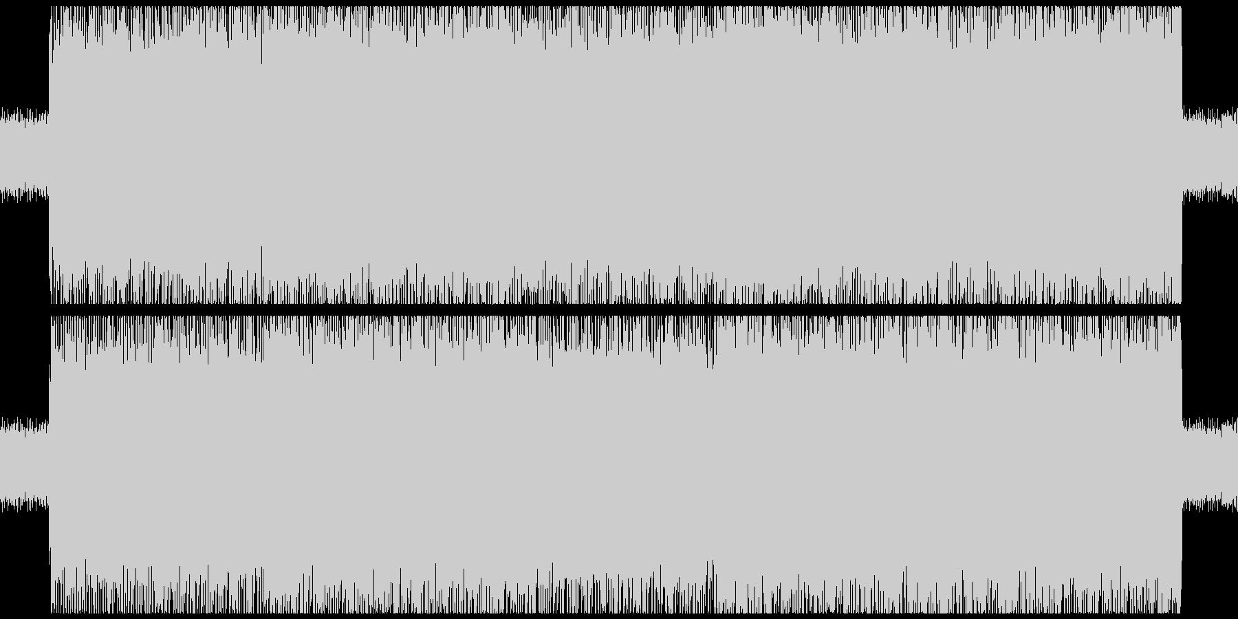 RPG風のどこかチープなメタル系戦闘曲の未再生の波形