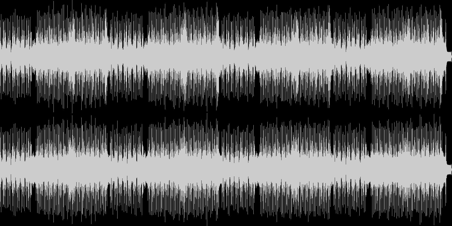 レトロゲーム風BGMの未再生の波形