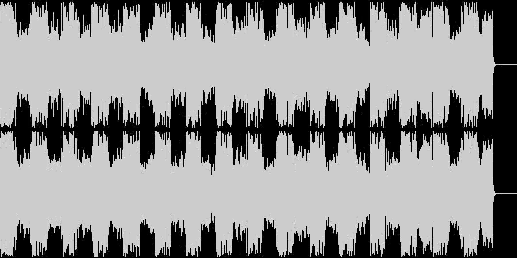 【フューチャーベース】ロング2ショート7の未再生の波形