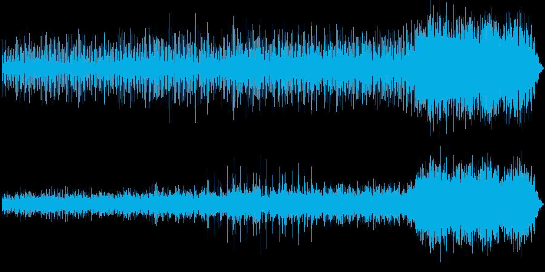 独特な世界観で響きが特徴的なメロディーの再生済みの波形