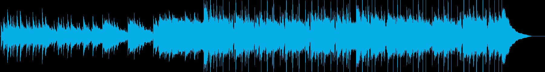 のんびりしたほのぼのアメリカ童謡の再生済みの波形