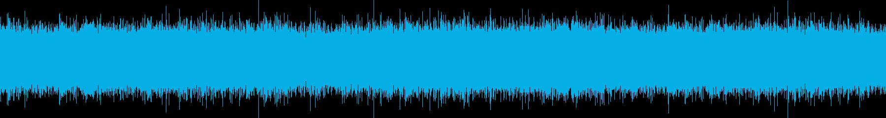 川のせせらぎ 水の流れる音 ループ可の再生済みの波形