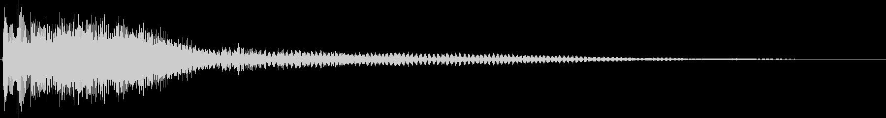 決定・空気感・キャッチー・印象的3の未再生の波形
