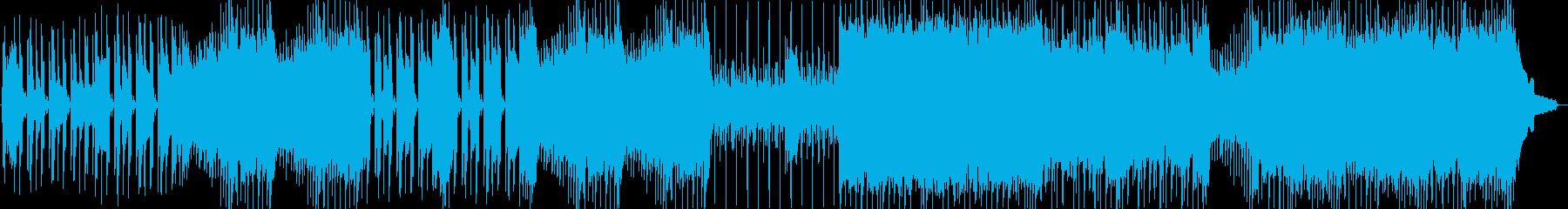 ポップロック。アコースティックサウンド。の再生済みの波形