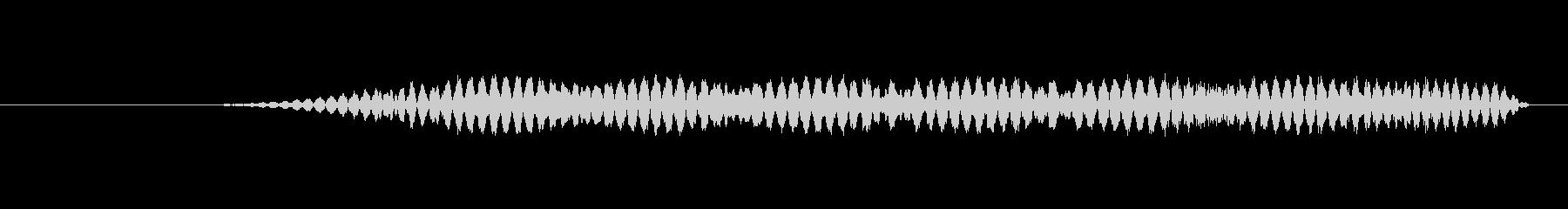特撮 インターフェースビープ03の未再生の波形