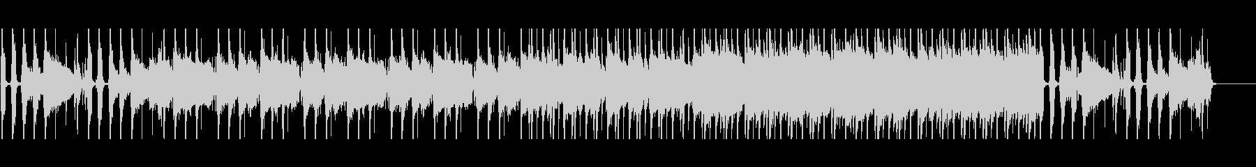 バンド曲/エレキギター/儚い雰囲気の未再生の波形