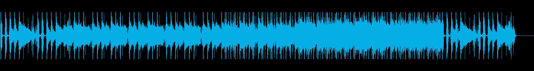 バンド曲/エレキギター/儚い雰囲気の再生済みの波形