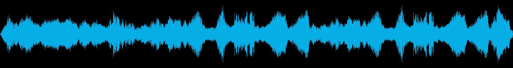 コントロールセンター:多層通信信号...の再生済みの波形