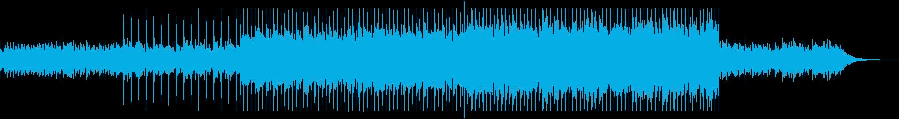 軽快で前向きになれるポップミュージックの再生済みの波形