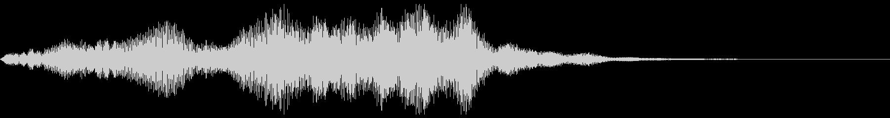 不安音01の未再生の波形