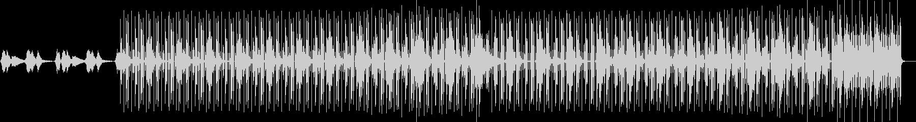 幻想的 電子音 トラップビートの未再生の波形