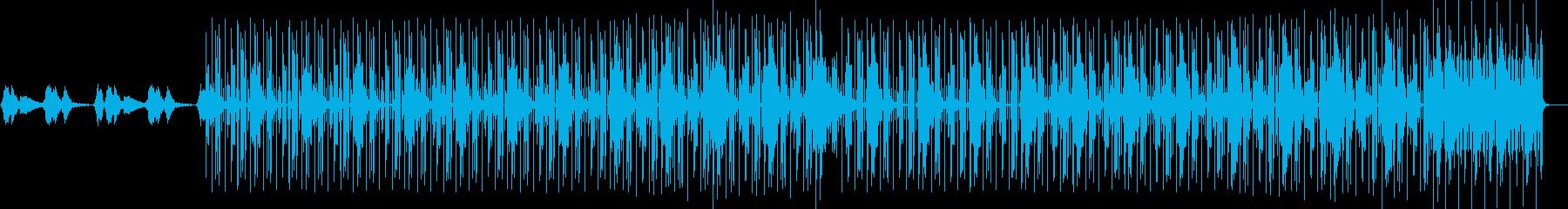 幻想的 電子音 トラップビートの再生済みの波形