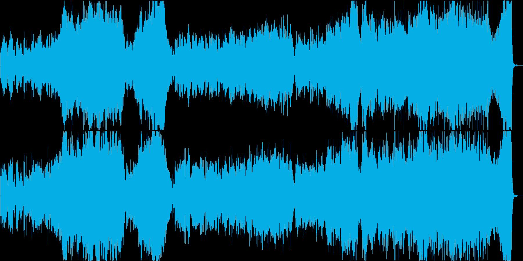 壮大で感動的なトランペットバラードの再生済みの波形